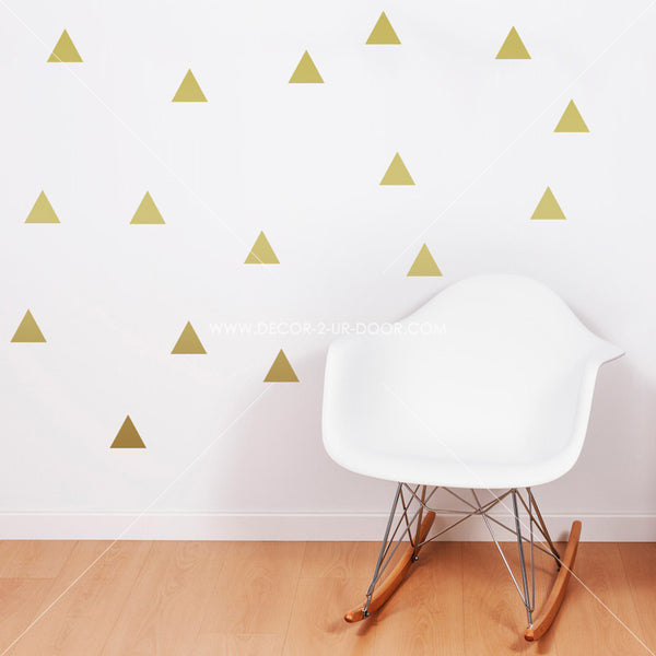 Triangles Vinyl Wall Decals