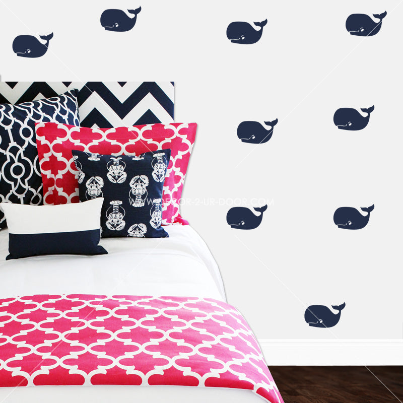 Whales Vinyl Wall Decals
