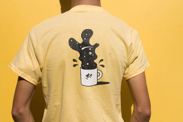 space coffee tee