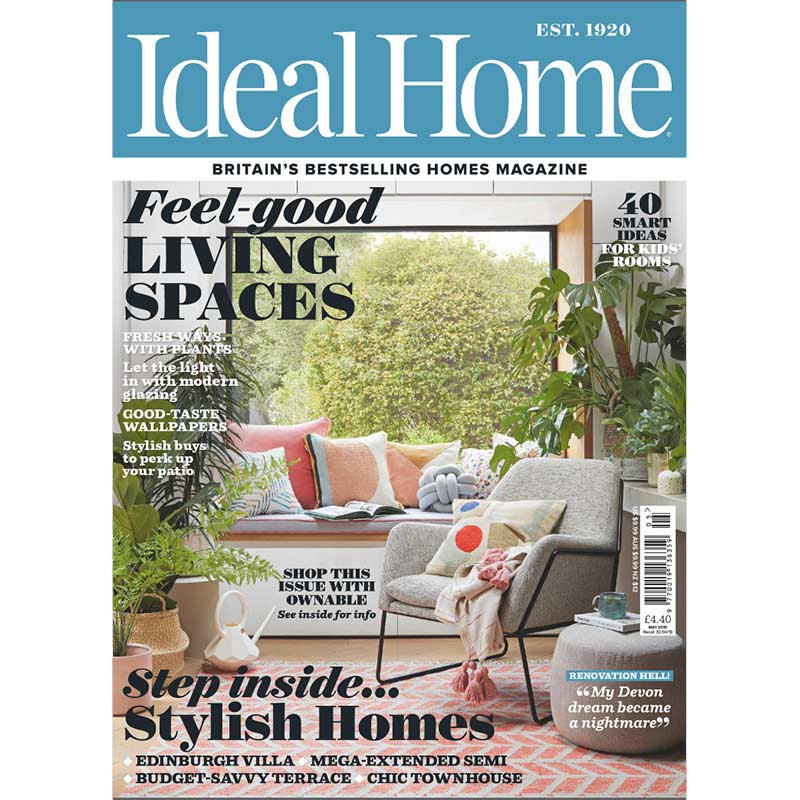 Featured in Ideal Home Magazine