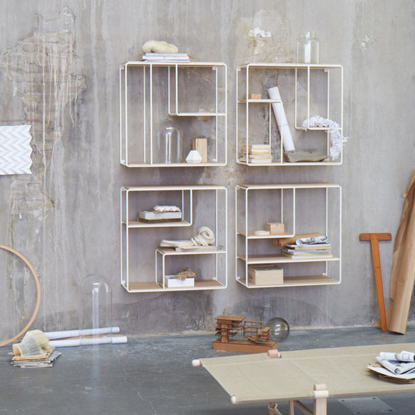 Korridor design anywhere shelving system