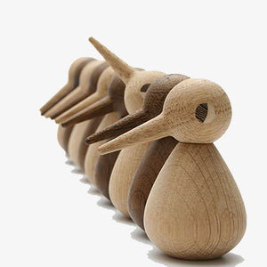 Wooden bird handmade Oak by Scandinavian Architectmade