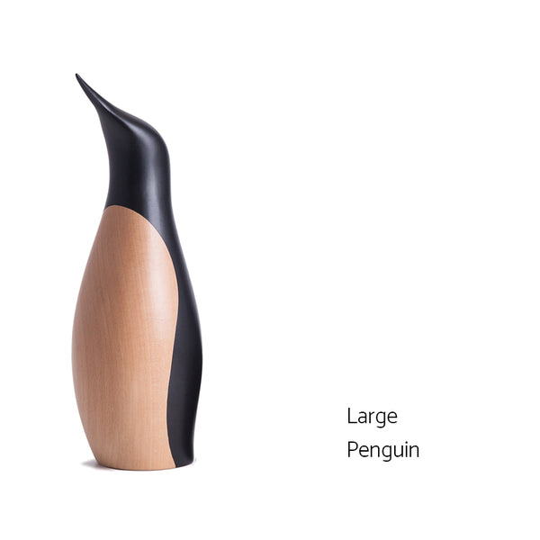 ArchitectMade wooden penguin large small
