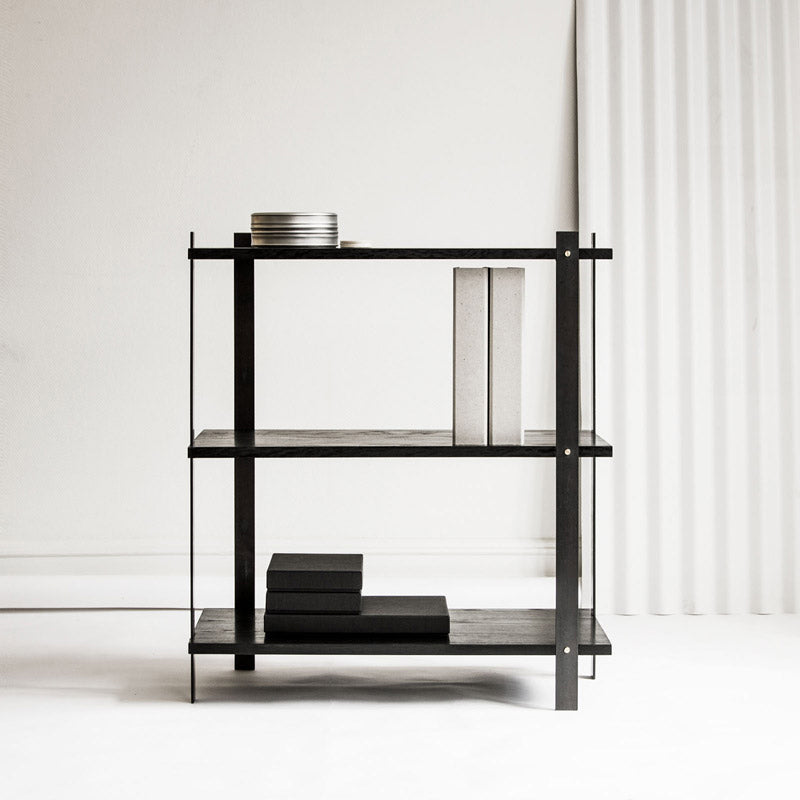 Danish furniture Enkl KG1 Bookshelf Black Oak