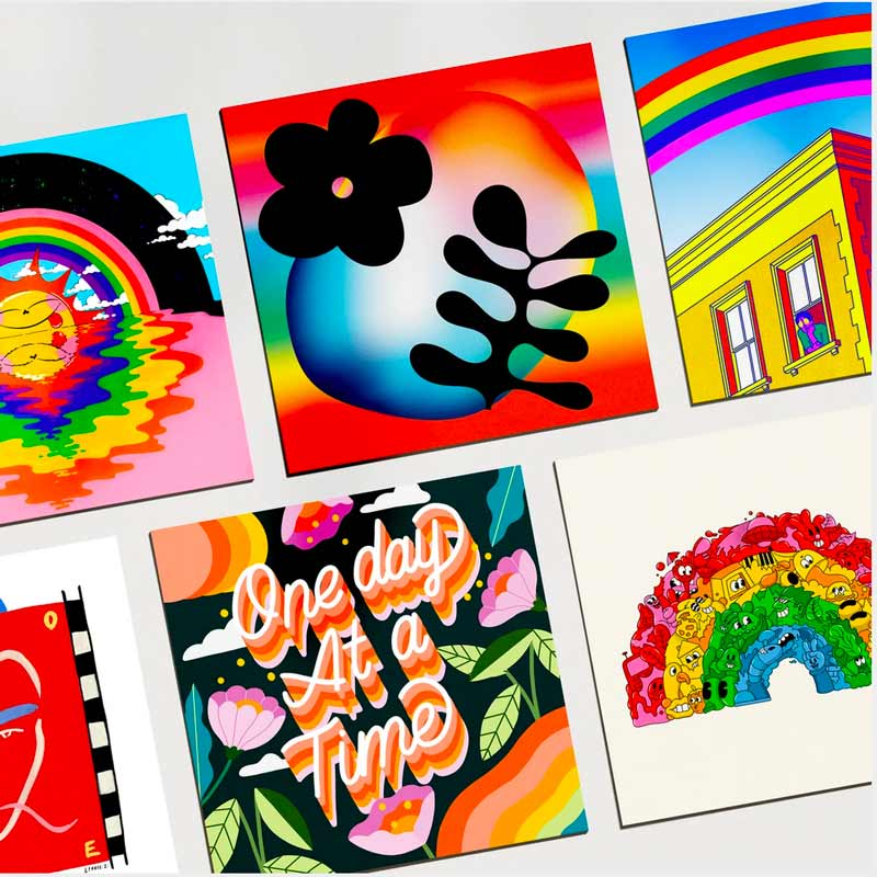 NHS | Rainbow Postcard Pack