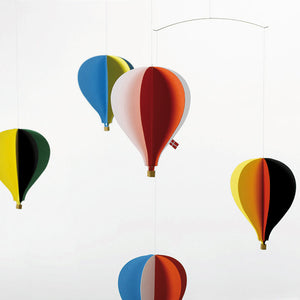 Flensted 5 baloon colourful lightweight nursery mobile
