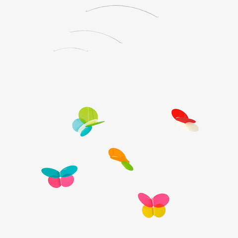 Flensted Mobiles Butterflies modern nursery