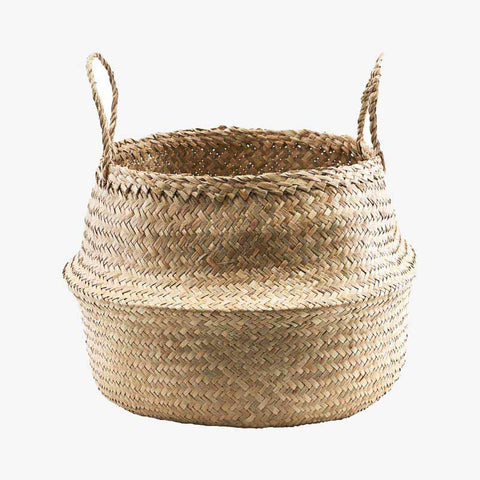 House Doctor Seagrass Woven Basket