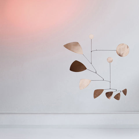 Lappalainen copper leaves mobile