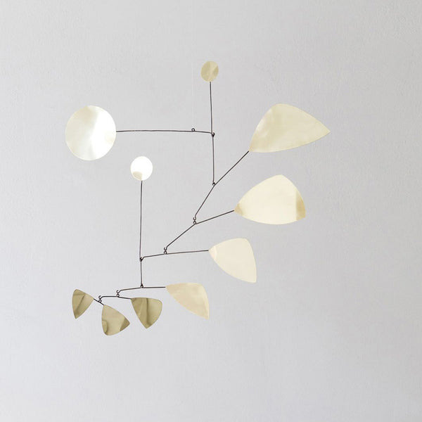 Lappalainen Brass leaves mobile