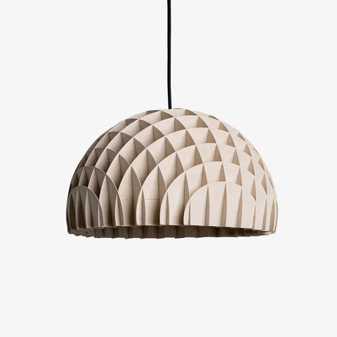 Danish brand Lawa Design Arc Pendant in Plywood