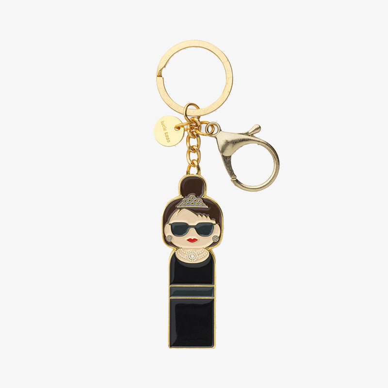 Sketch Inc. for Lucie Kaas Audrey Hepburn Keychain