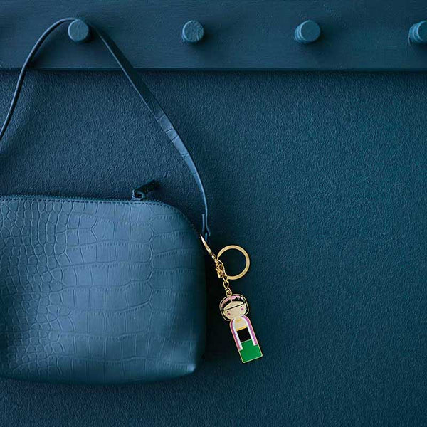 Sketch Inc. for Scandinavian Lucie Kaas Frida keychain