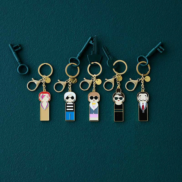 Sketch Inc. for Scandinavian Lucie Kaas Coco Chanel keychain