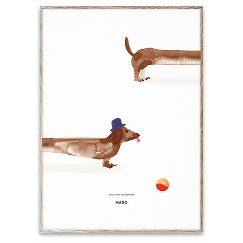 MADO Doug the Dachshund for modern scandinavian nursery