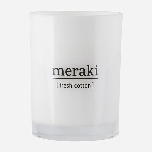 Meraki Soy Candle | Fresh Cotton