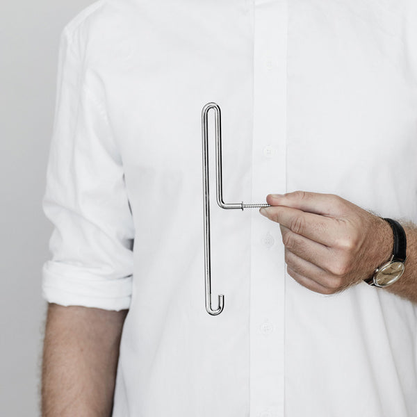 Scandinavian brand Moebe wall hook chrome