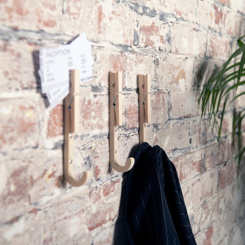 Moxon London Jpeg coat hooks set of 3