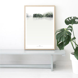 My Deer Art Shop Botanics / Calm limited edition print