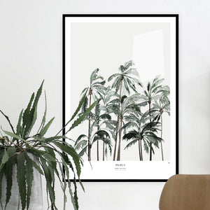 My Deer Art Shop Palms II Palm Tree Limited edition print