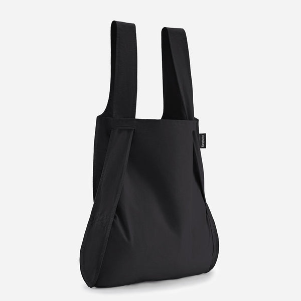 Notabag black stylish tote backpack