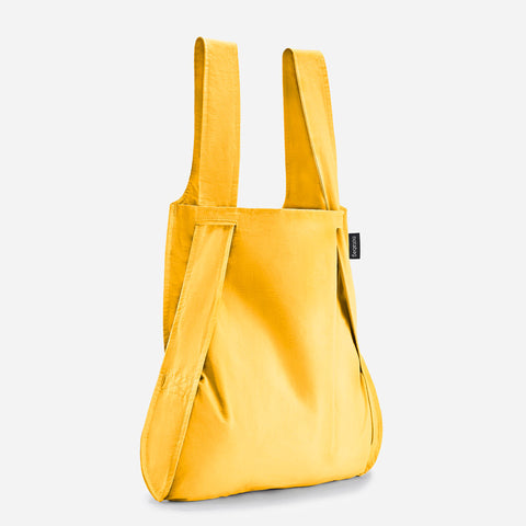 Notabag tote bag rucksack golden yellow