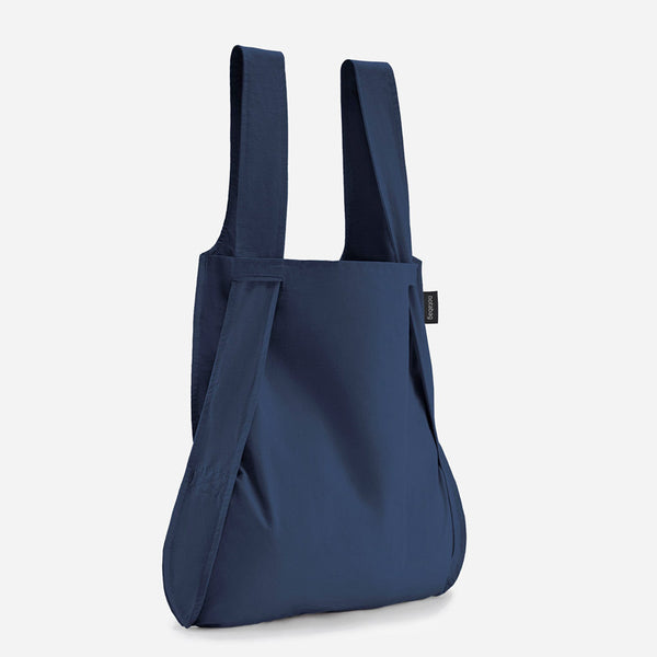 Notabag tote bag rucksack navy blue