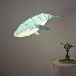 Humpback Whale DIY Pendant Paperlamp