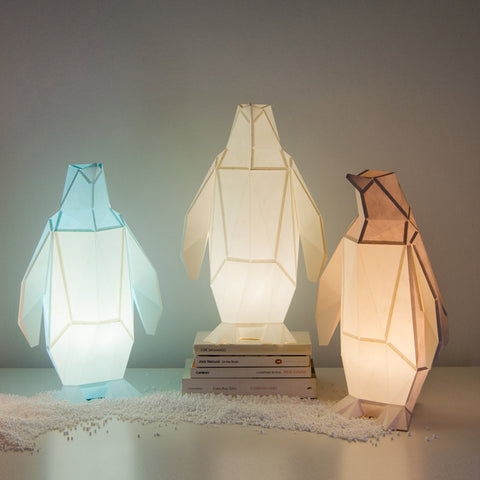 Small Penguin DIY Paperlamp