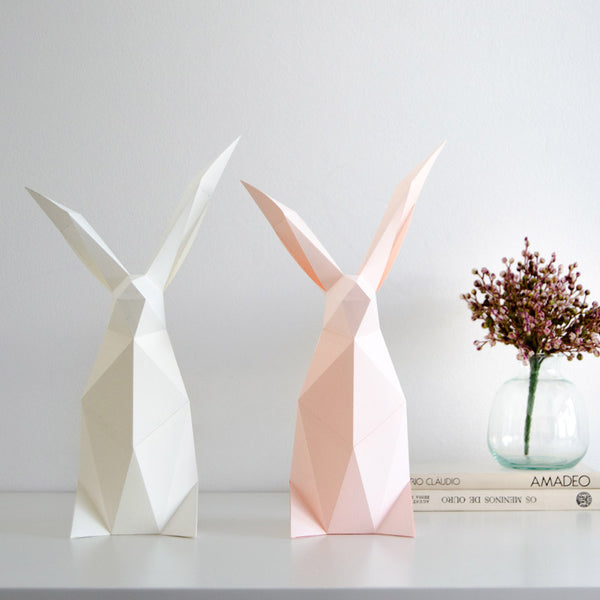 Rabbit DIY kit from Owl Paperlamps