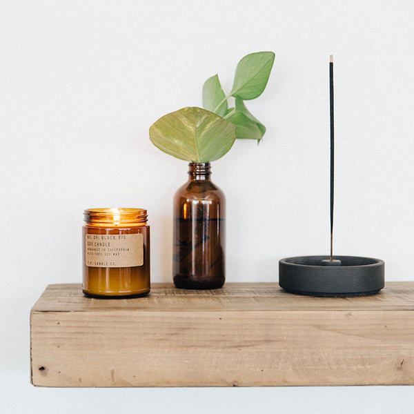 PF Candle Co Black Fig Soy Candle sold by Urban Coo