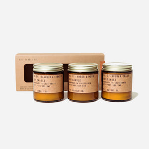 PF Candle Co Essentials combo gift set