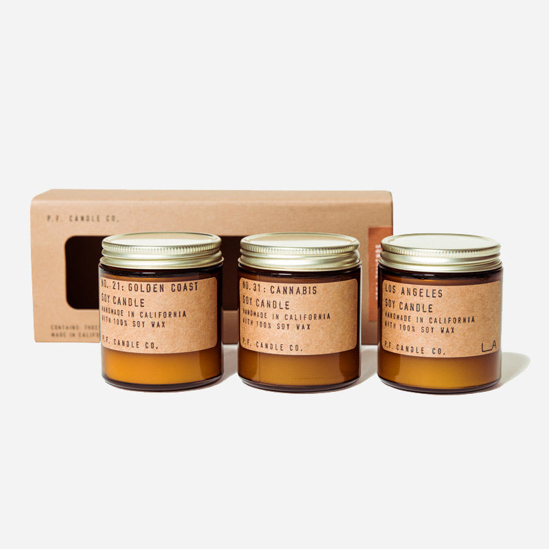PF Candle Co Sunshine Soy Candles Combo Pack