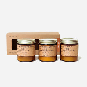 PF Candle Co Vice Soy Candles Combo Pack