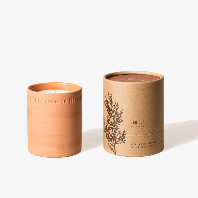 PF Candle Co Juniper Terra Soy Candle