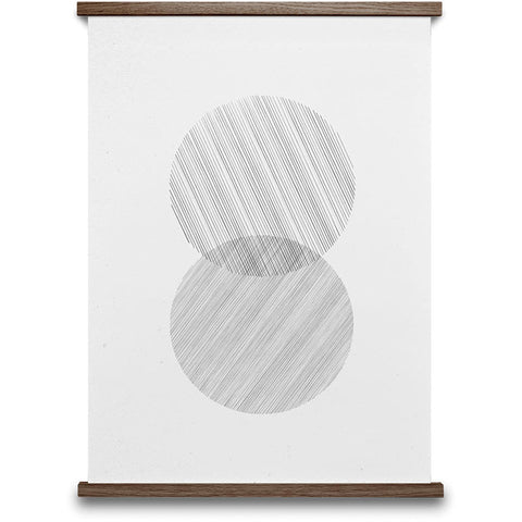 Linework by Lemon contemporary scandinavian poster Paper Collective