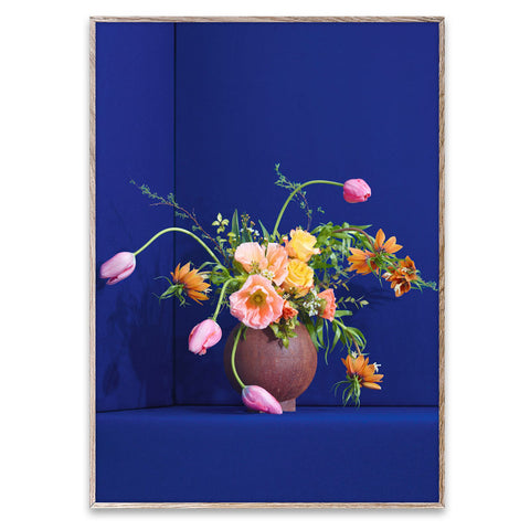 Paper Collective modern still life Blomst 01 | Blue by Uffe Buchard