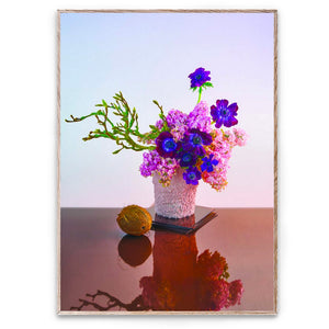 Paper Collective Bloom 01 Amber, modern still life by Uffe Buchard