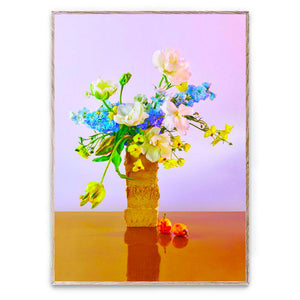 Modern still life Bloom 04 Violet by Uffe Buchard for Paper Collective