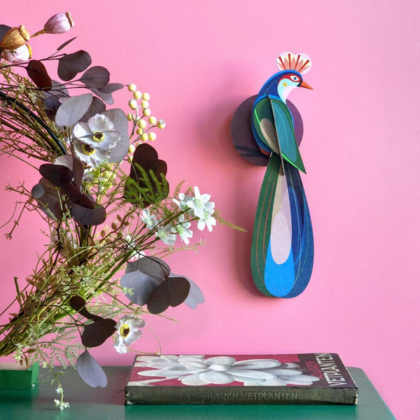 Studio Roof Banda Bird recycled paper Wall Decoration