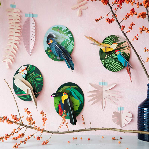 Cool Cockatoo Wall Decoration
