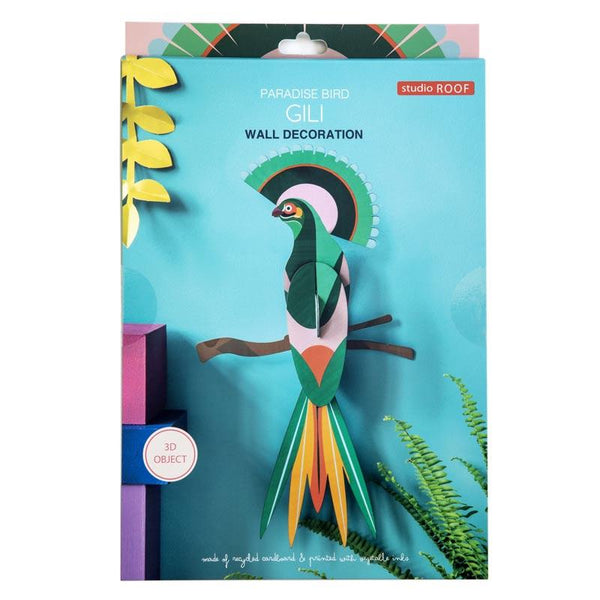 Studio Roof Paradise Bird Gili Wall Decoration