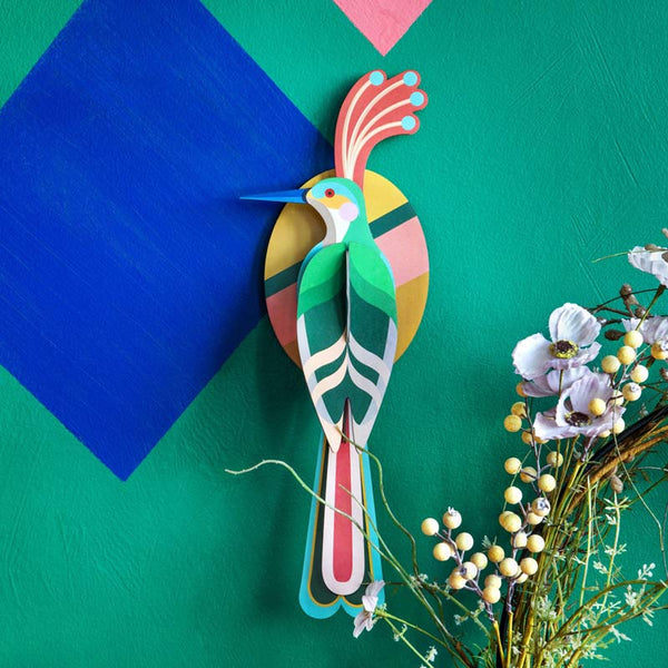 Studio Roof Nias Bird recycled paper Wall Decoration