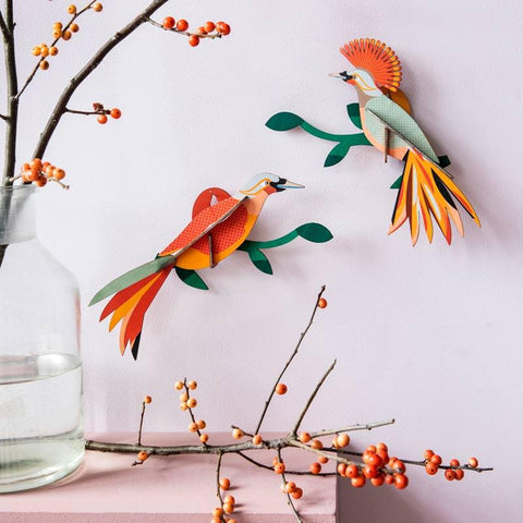 Studio Roof Paradise Bird Obi Wall Decoration