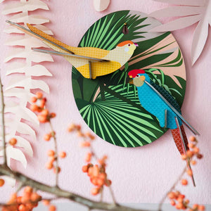 Studio Roof Parakeets wall decoration