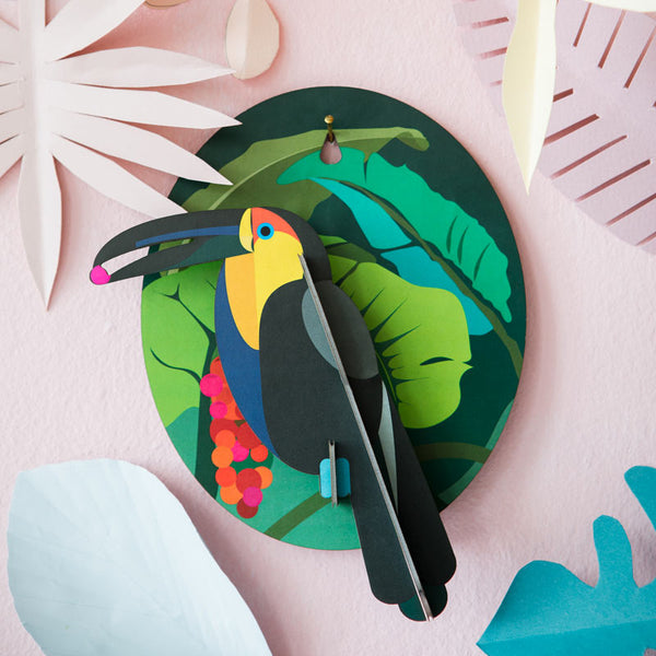 Studio Roof Toucan wall decoration