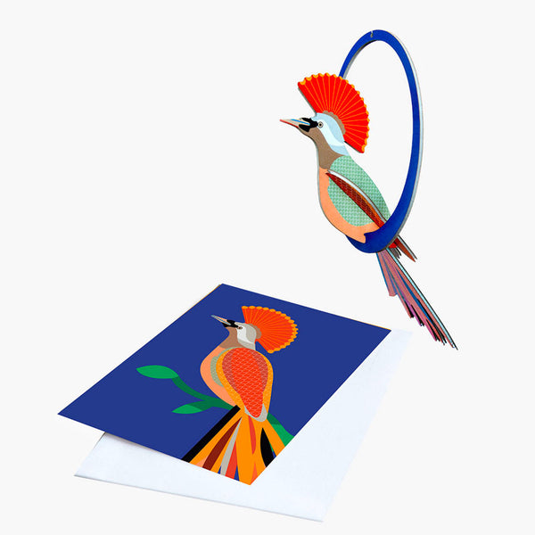 Studio Roof Swinging Crowned Obi Pop-out Card