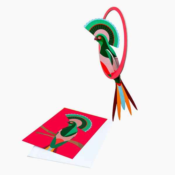 Studio Roof Swinging Gili Pop-out Card