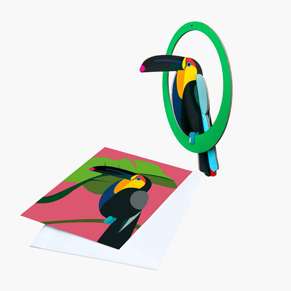 Swinging Toucan Pop-out Card