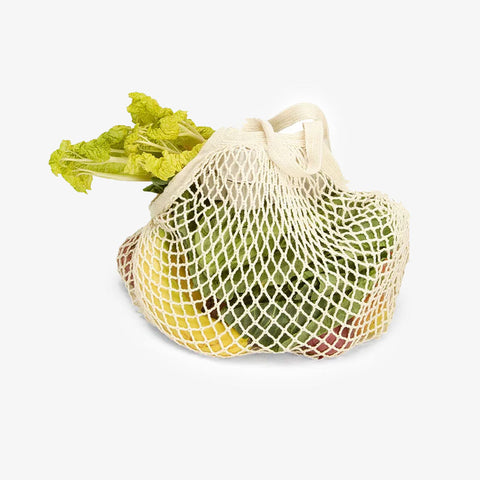 Short Handled String Bag Natural